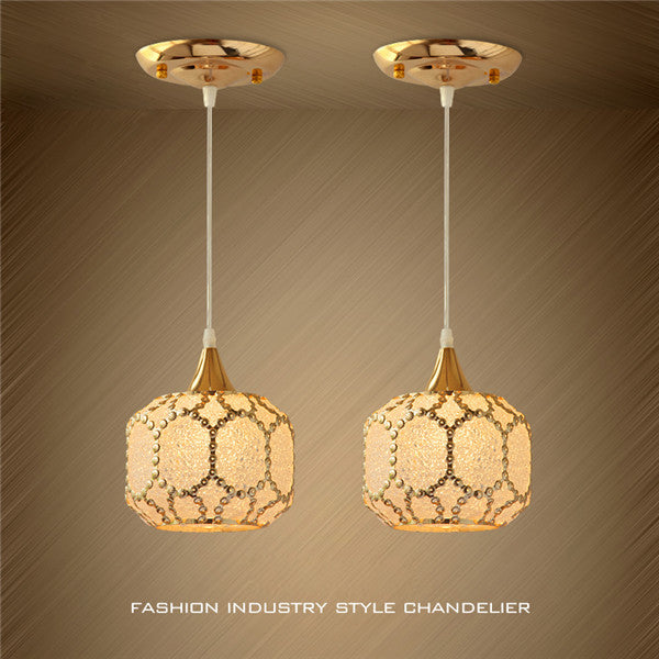 Modern Metal Glass Chandelier PL683 - Cheerhuzz