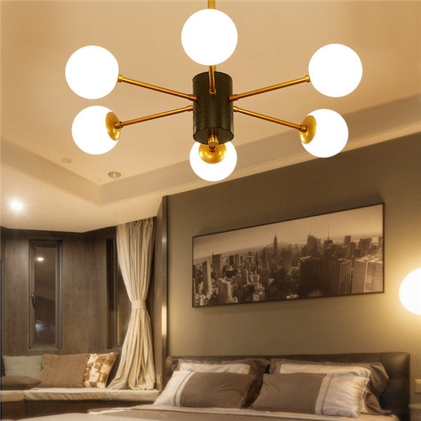 Modern Glass Ball Pendant Light PL685 - Cheerhuzz