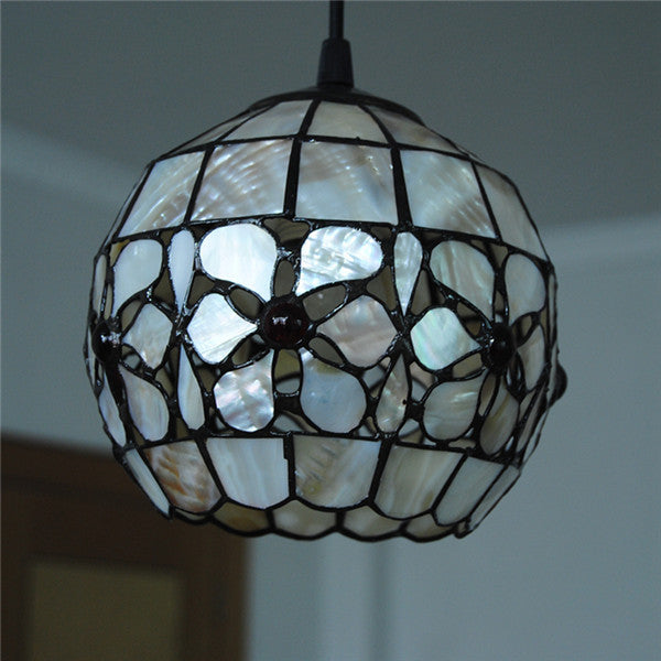 Tiffany Flower Pattern Pendant Lamp PL718