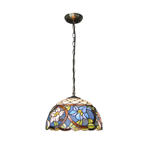 "5"" Mediterranean Stained Shell Pendant Lights PL754"