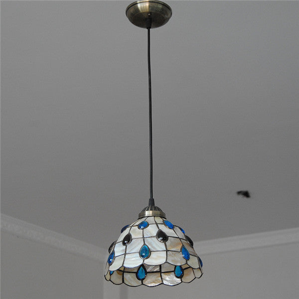Tiffany Style Stained Glass Ceiling Light PL722
