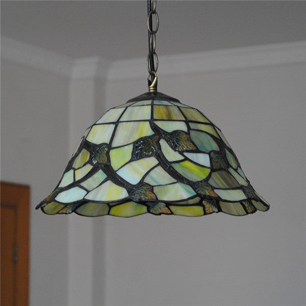 Mediterranean Maple Leaf Pattern Pendant Light PL723