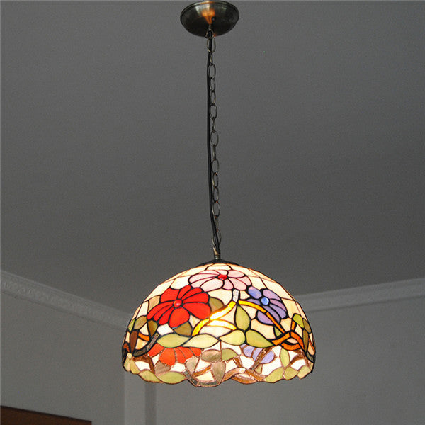 12 Inch European Flowers Pendant Lights PL724 - Cheerhuzz