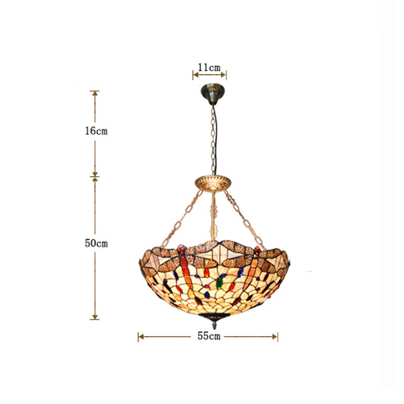 Classic Retro Dragonfly Decorative Hanging Lamp PL727 - Cheerhuzz