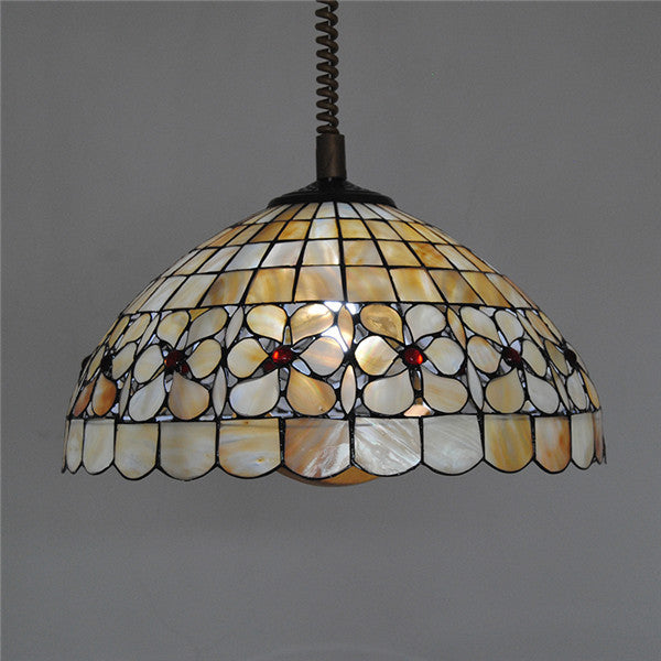 Retro Tiffany Flower Chandelier Fixture PL764 - Cheerhuzz