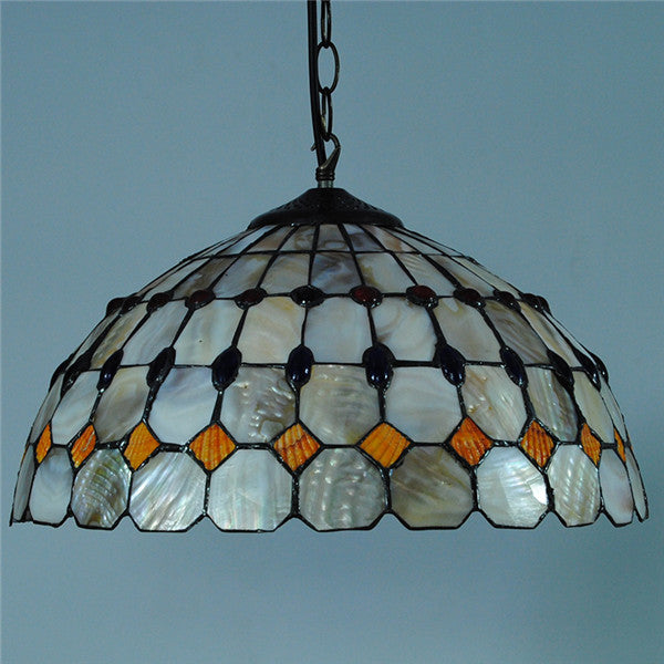 1 Light Victorian Stained Glass Lighting PL803 - Cheerhuzz