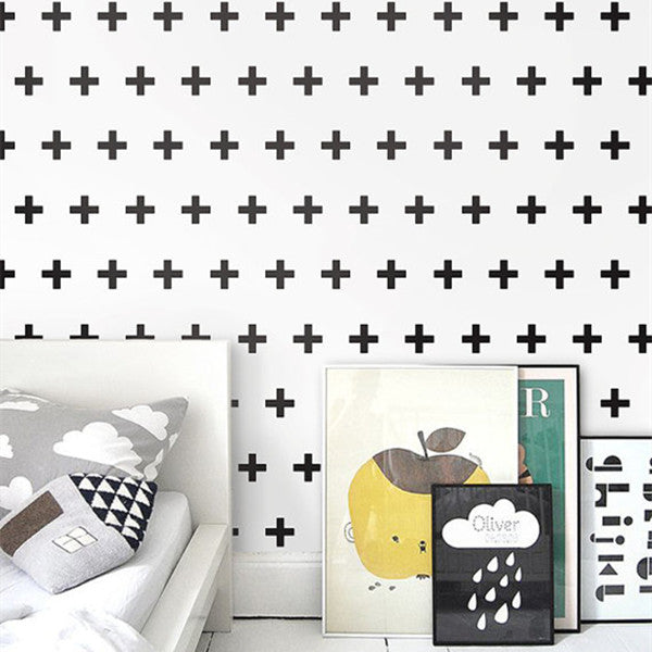 Plus Sign Wallpaper by Ingrid Mika WP156 - Cheerhuzz