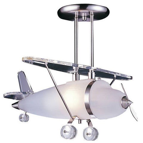 The Prop Plane Pendant Elk Lighting CL107