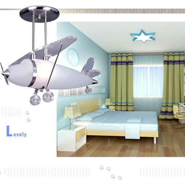 The Prop Plane Pendant Elk Lighting Kid's Chandelier CL107 - Cheerhuzz