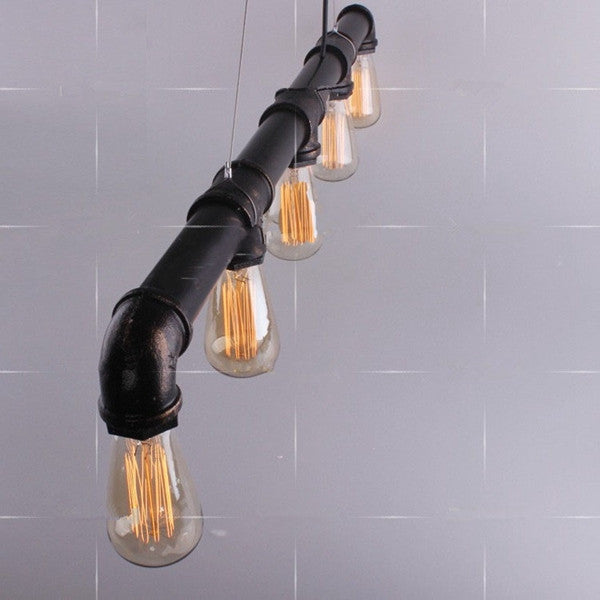 The Water Pipe Pendant Chandelier PL193 - Cheerhuzz