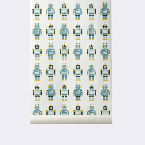 Squares Wallpaper By Trine Andersen | Ferm Living WP206