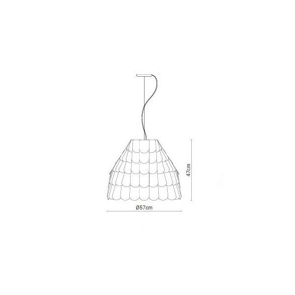 Roofer F12A01 Pendant for Fabbian PL344 - Cheerhuzz