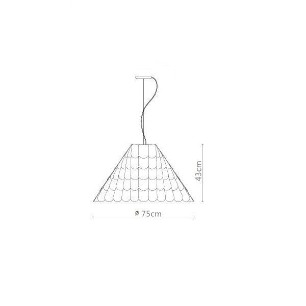 Roofer F12A03 Pendant for Fabbian PL343