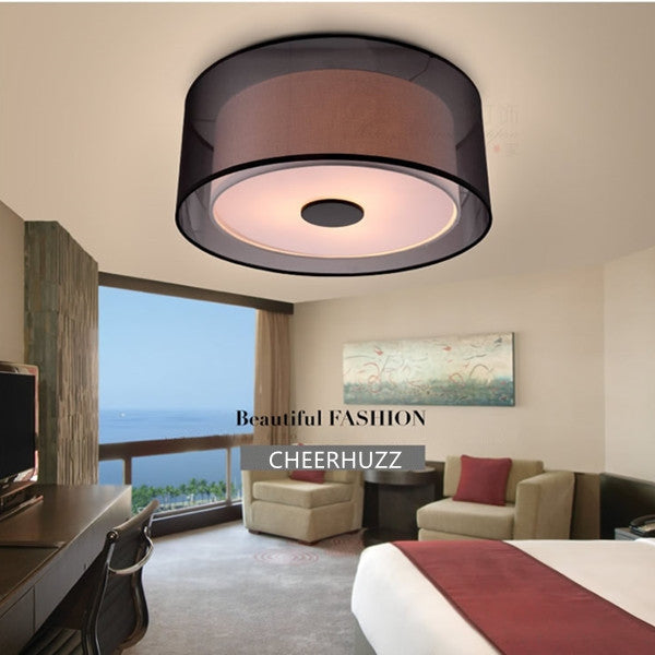 The Saturnia Semi-Flushmount Ceiling Lamp CL108