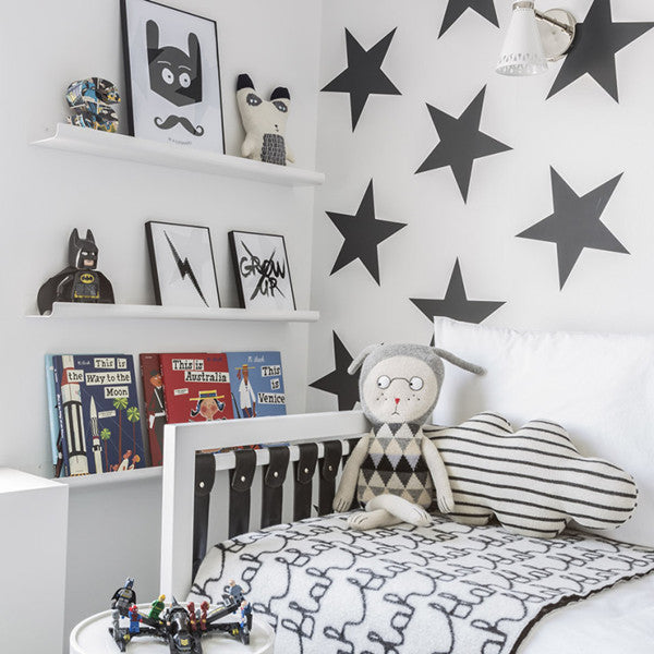 Sissy & Marley Wallpaper | Lucky Star in Charcoal WP157 - Cheerhuzz