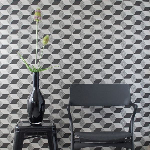 Squares Wallpaper By Trine Andersen | Ferm Living WP206 - Cheerhuzz