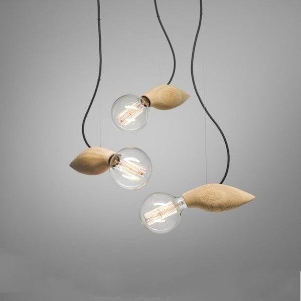 The Swarm Lamp Wooden Pendant Light PL301