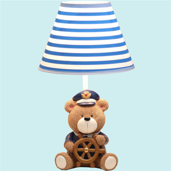 Cartoon Resin Bear Captain Night Light TL138 - Cheerhuzz
