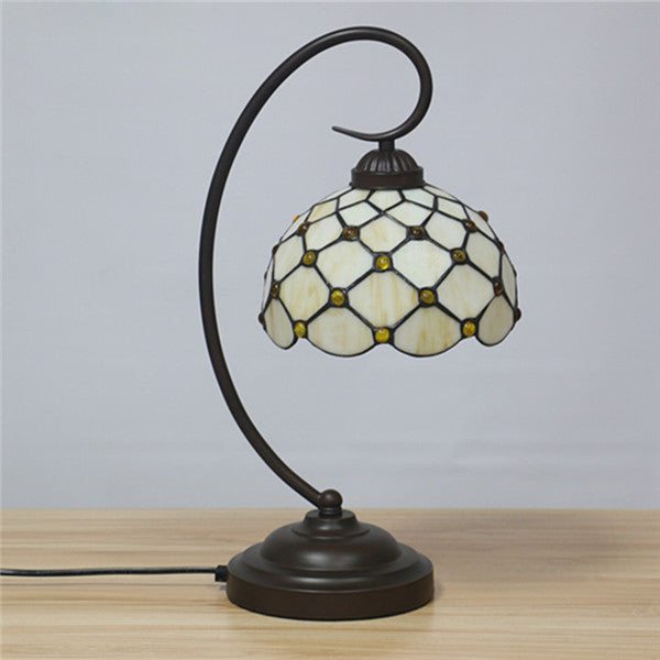 Tiffany Dotted Stain Glass Desk Lights TL144 - Cheerhuzz