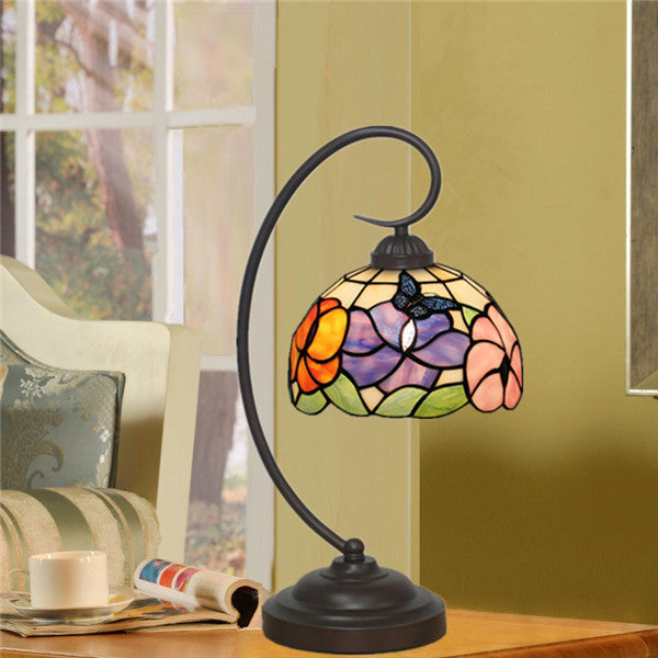Flowers Tiffany Table Lamp TL145