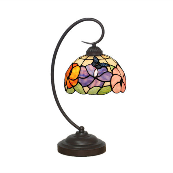 Flowers Tiffany Table Lamp TL145 - Cheerhuzz