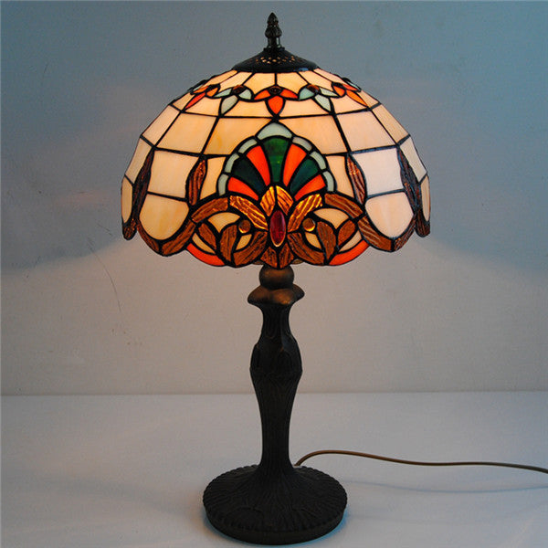 Antique Tiffany Style Table Lamp TL156 - Cheerhuzz