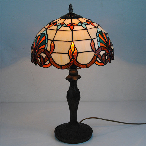 Antique Tiffany Style Table Lamp TL156