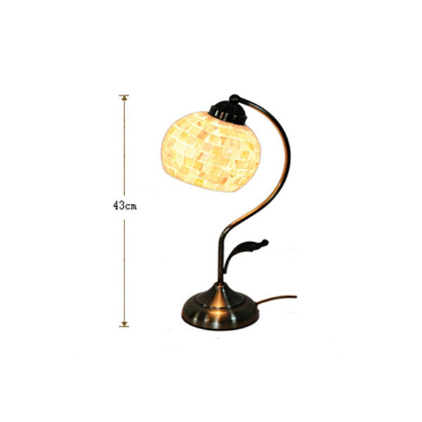 Modern Mosaic Stained Shell Desk Lamp TL161 - Cheerhuzz