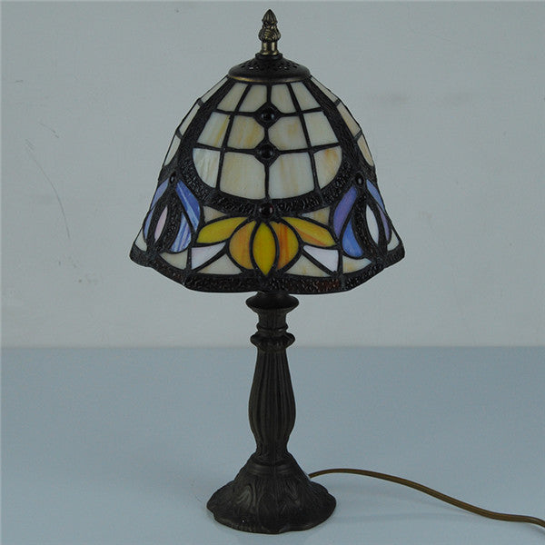 Classical Baroque Stained Glass Table Lamp TL165