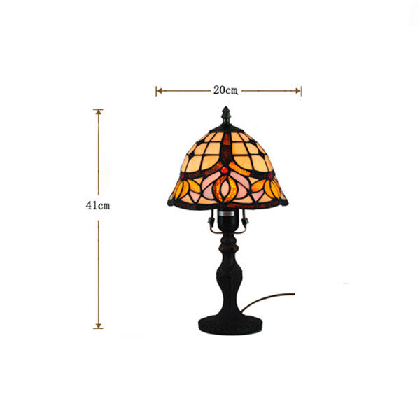 Classical Baroque Stained Glass Table Lamp TL165 - Cheerhuzz