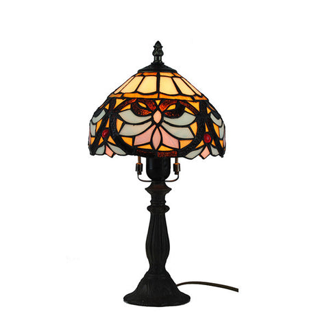 Tiffany Dotted Stain Glass Desk Lights TL144