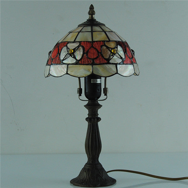 "8"" Vintage Tiffany  Victorian Desk Lamp TL167"