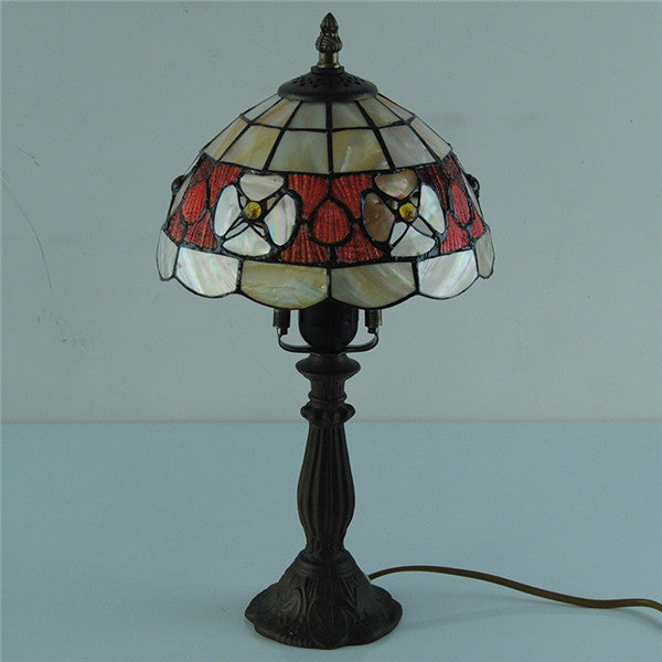 "8"" Vintage Tiffany  Victorian Desk Lamp TL167 - Cheerhuzz"