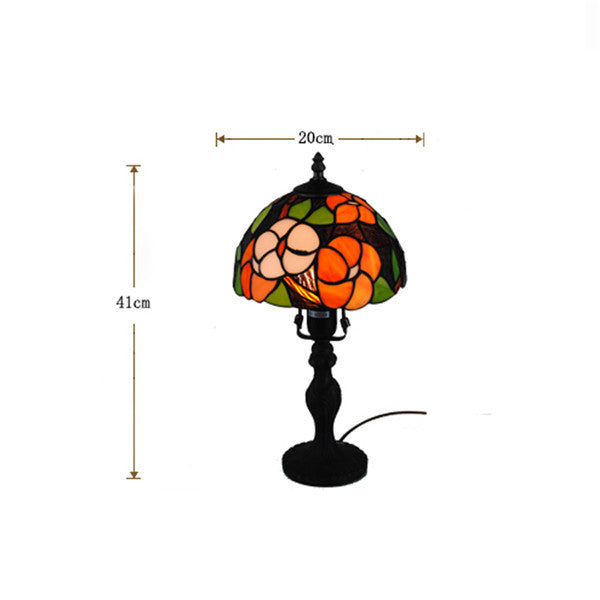 Baroque Tiffany Style Stained Glass Table Lamp TL168