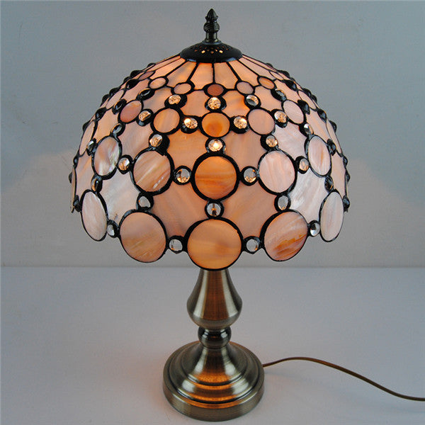 Tiffany Style Stained Glass Table Lamp TL174