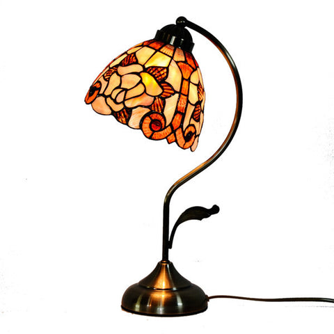 Vintage Tiffany Umbrella Shape Table Lamp TL146