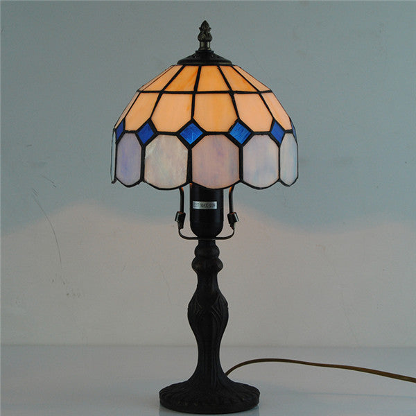 Baroque Retro Stained Glass Table Lamp TL185