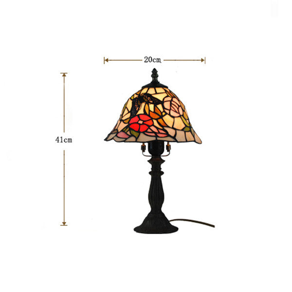 "8"" Dale Tiffany Butterfly Table Lamp TL186 - Cheerhuzz"