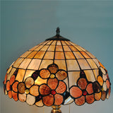 Baroque Glass Copper Desk Lamp TL205 - Cheerhuzz