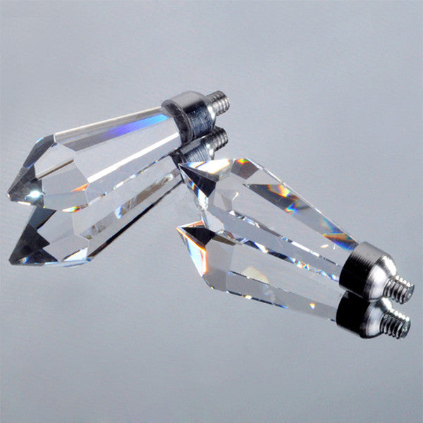 Simplicity K9 Crystal Wall Lights WL192 - Cheerhuzz