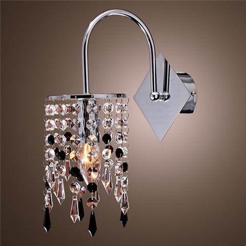 Contemporary Crystal Wall Sconces WL193