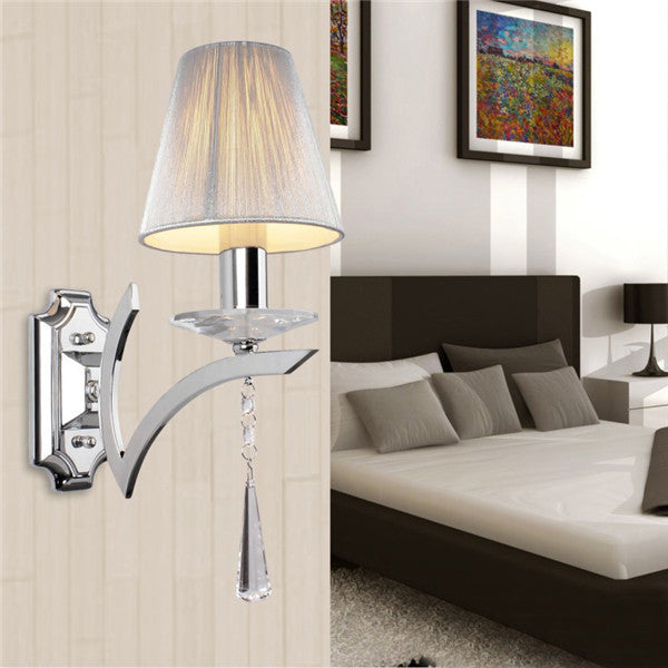 Elegant Crystal Drops Wall Sconces WL194