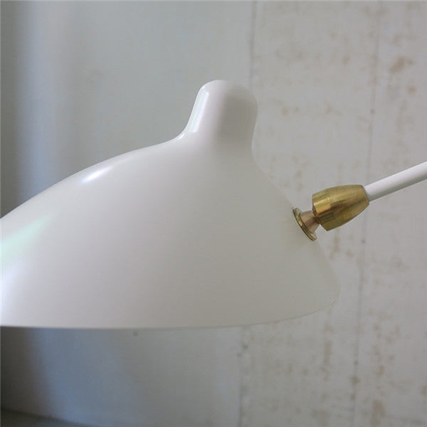 Long Serge Mouille Arm Rotating Wall Sconce WL196