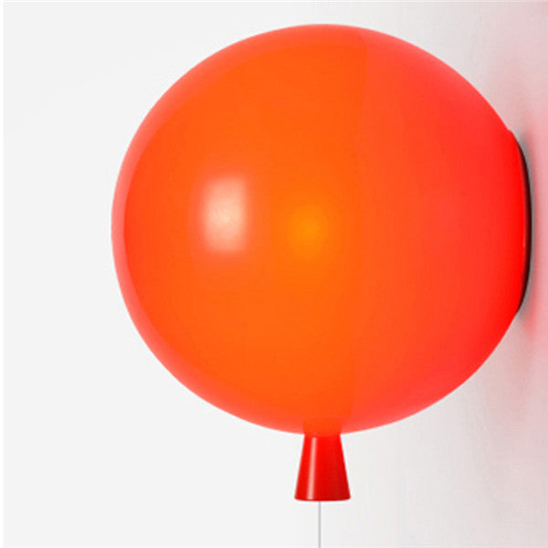 Colorful Balloon Glass Wall Lamp WL197