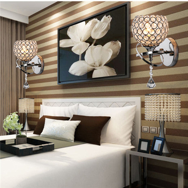 LED Crystal Small Wall Sconces WL203 - Cheerhuzz