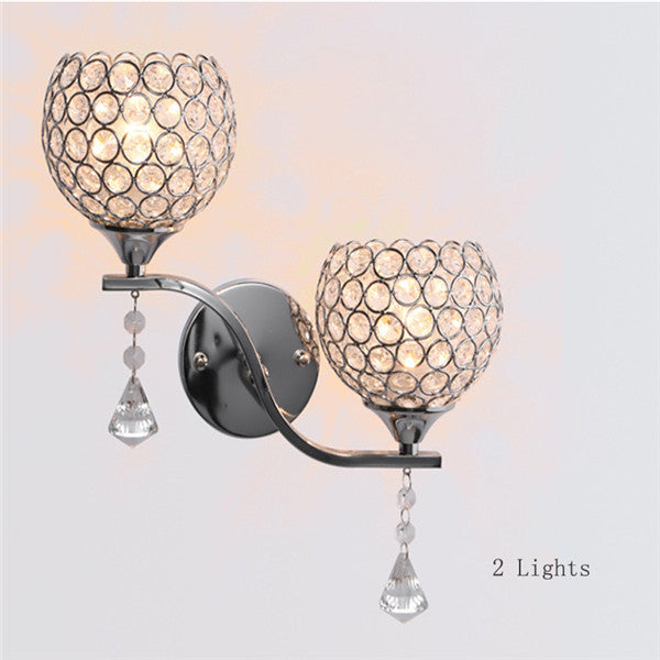 LED Crystal Small Wall Sconces WL203