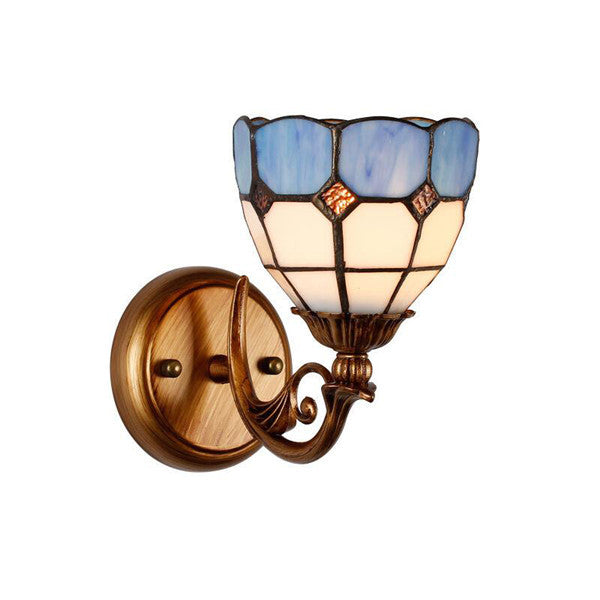 Tiffany Stained Glass Lampshade Wall Sconces WL207 - Cheerhuzz