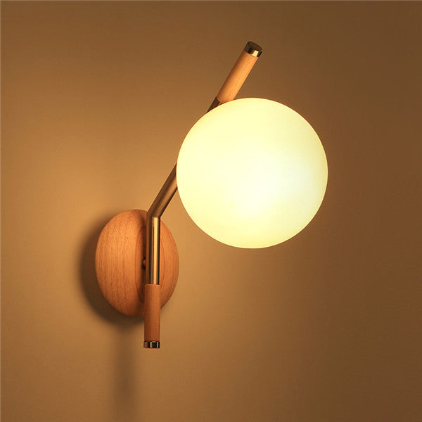 Nature Wooden Wall Sconces WL208 - Cheerhuzz