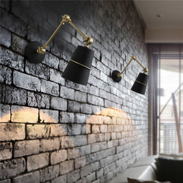 Vintage Metal Shade Retro Wall Light WL212 - Cheerhuzz