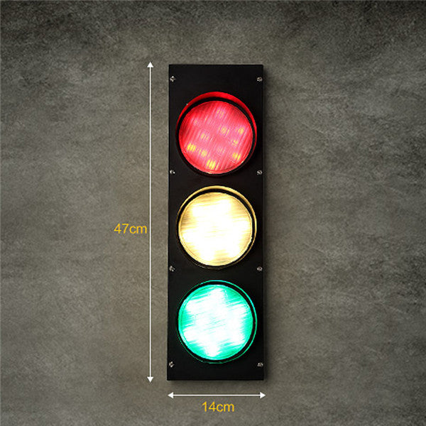 Modern LED Traffic Lights Wall Sconces WL218 - Cheerhuzz